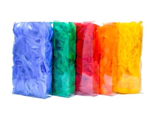 Piórka Kolorowe Pudełko
